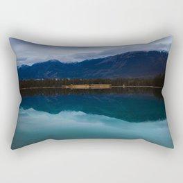Mountain in the Mirror Rectangular Pillow