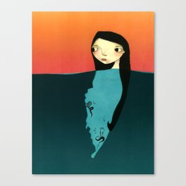 subconscious Canvas Print