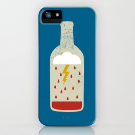 wine bottle iPhone Case