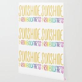 Sunshine & Rainbowfarts Wallpaper