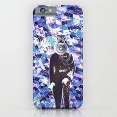 General Gears on blue Slim Case iPhone 6s
