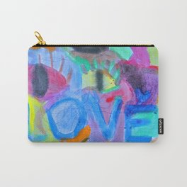 Summer Love | Painting by Elisavet Carry-All Pouch