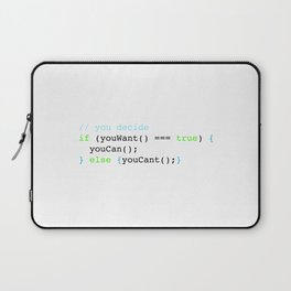 You decide Laptop Sleeve