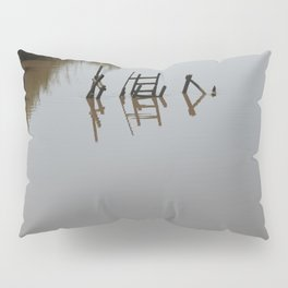 The river 's cryptic message Pillow Sham