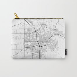 Minimal City Maps - Map Of Santa Rosa, California, United States Carry-All Pouch