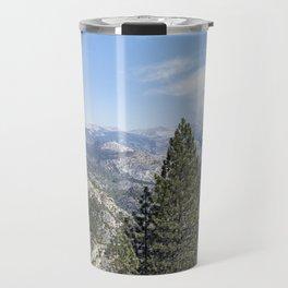 Half Dome from Washburn Point Pano Travel Mug