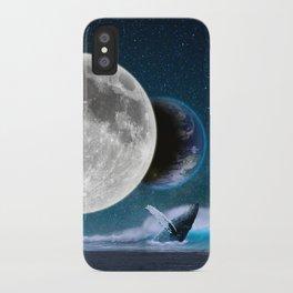 Blue Whale by GEN Z iPhone Case