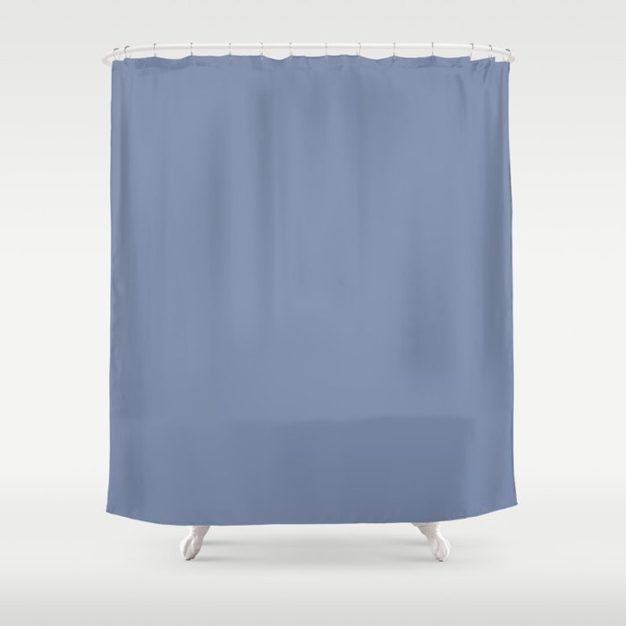 Lilac Purple Ice Cream Color Shower Curtain