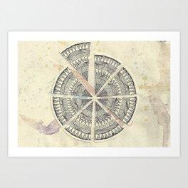 Misplaced Wash Art Print