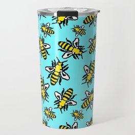 Honey Bee Swarm Travel Mug