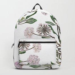 Verbena flowers Backpack