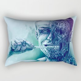 Hygienic Zombie Rectangular Pillow