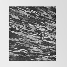 paradigm shift (monochrome series) Throw Blanket
