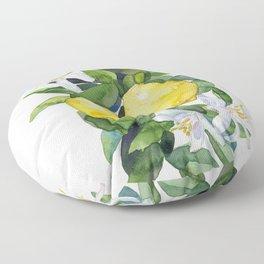 lemon tee Floor Pillow