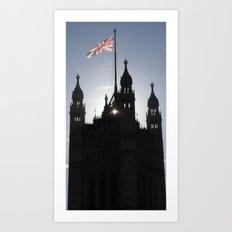 Good Morning, London Art Print