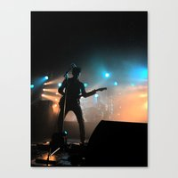 arctic monkeys Canvas Prints featuring Alex Turner // Arctic Monkeys by Hattie Trott