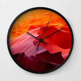 Leaving you behind Wall Clock