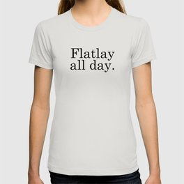 Flatlay All Day - White T-shirt