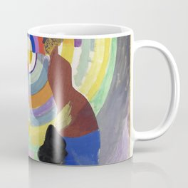 "Robert Delaunay ""Political Drama"" Coffee Mug"
