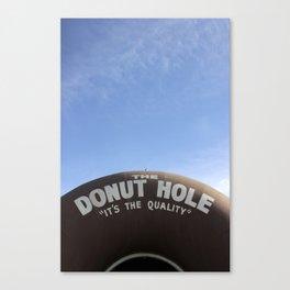 The Donut Hole Canvas Print
