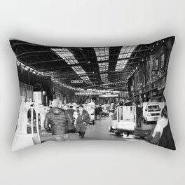 The Entry to Tsukiji Fish Market, Tokyo, Japan Rectangular Pillow
