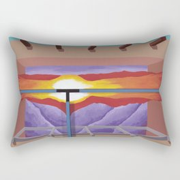 House of the Sun Cloud Rectangular Pillow
