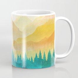 Summer Mountain Sunrise Coffee Mug