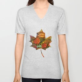 Autumn in the Forest Unisex V-Neck
