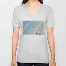 the gateway to the west ... Unisex V-Neck