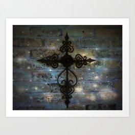 The Cross! Art Print