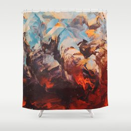 Otherwordly Things Shower Curtain