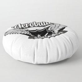 Aviation Clothing, acrobatic squadron. Floor Pillow