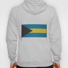 Flag of Bahamas. The slit in the paper with shadows. Hoody