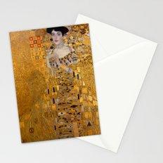 Adele Bloch-Bauer I by Gustav Klimt Stationery Cards