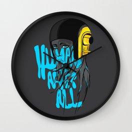 Human After All Wall Clock