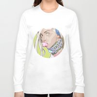 artrave Long Sleeve T-shirts featuring artRAVE FREAKshow by AdamAether