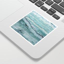 Mystic Stone Aqua Teal Sticker