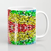cross Mugs featuring Cross by Bruce Stanfield