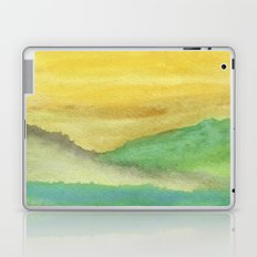 Watercolor abstract landscape 06 Laptop & iPad Skin