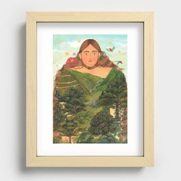 COLOMBIA Recessed Framed Print