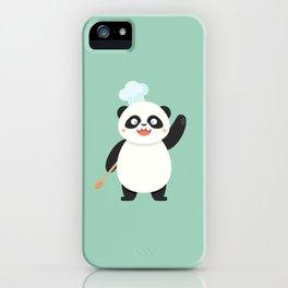 Chef Panda iPhone Case