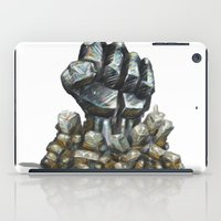 minerals iPad Cases featuring Minerals and rocks by YISHAII