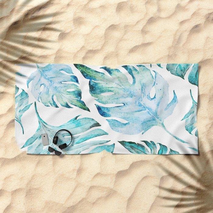 love tropical Beach Towel