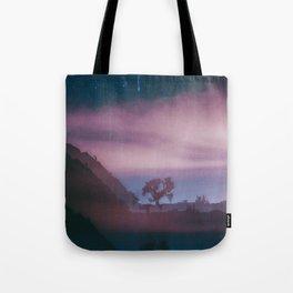 dreamy Joshua Tree at night Tote Bag
