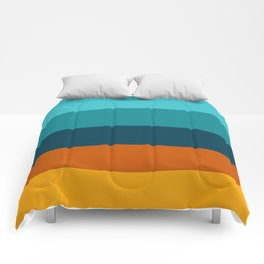 Sunflower Colorful Stripes Comforters