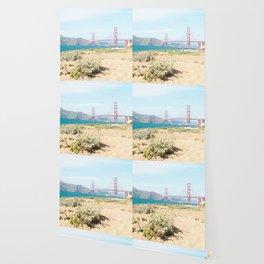Golden Gate Bridge Beach Wallpaper