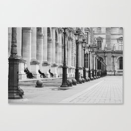 Louvre - Street Photography Canvas Print