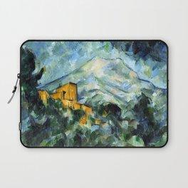 Paul Cezanne Mont Sainte-Victoire and Château Noir Laptop Sleeve