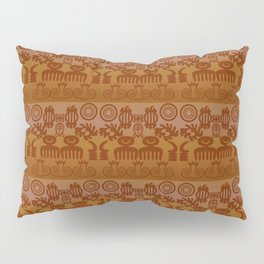 Adinkra Print Pillow Sham