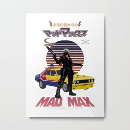 The Road Warrior 1979 Metal Print
